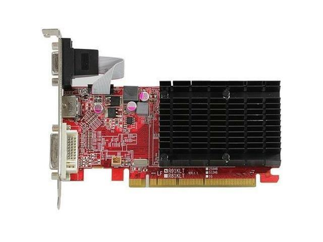 PowerColor AXR5 230 1GBK3-HE - AMD Radeon R5 230 1GB DDR3 VGA/DVI/HDMI Low Profile PCI-Express Video Card