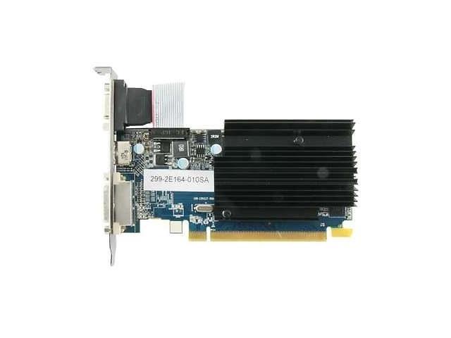 Sapphire 100322L AMD Radeon HD 6450 1GB GDDR3 VGA/DVI/ HDMI PCI-Express 2.1 x16 Video Card