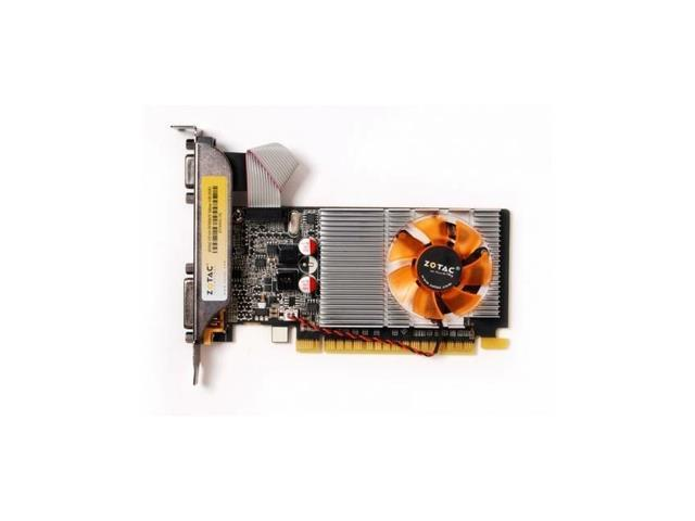 ZOTAC NVIDIA GeForce GT 610 Synergy Edition 1GB GDDR3 DVI-D DVI-I HDMI VGA Fansink Low Profile Video Card