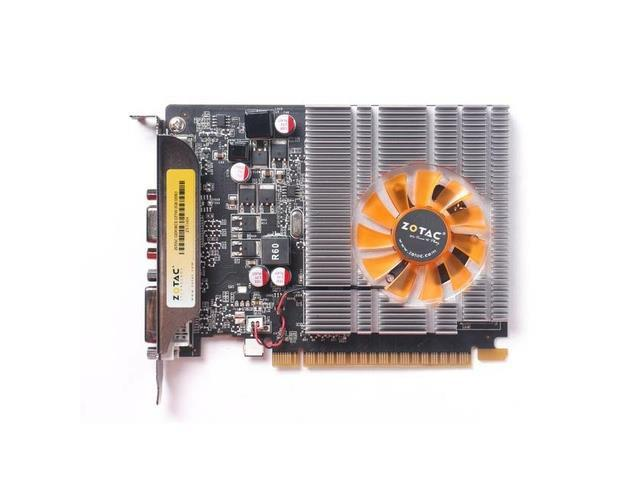 New ZOTAC NVIDIA GeForce GT 740 2GB 128-bit DDR3 VGA/DVI/HDMI PCI-Express 3.0 x16 (Compatible with 1.1) Video Card