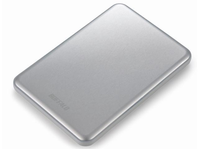Buffalo MiniStation Slim HD-PUSU3 500GB Portable USB3.0 Storage Silver
