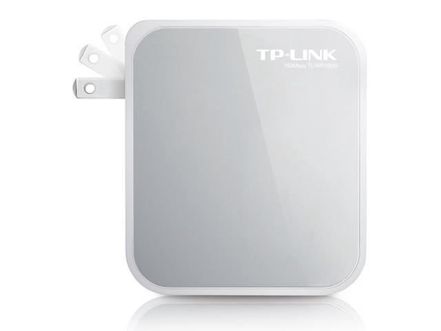 TP-Link TL-WR700N N150 Wireless Mini Travel Router with Foldable Plug
