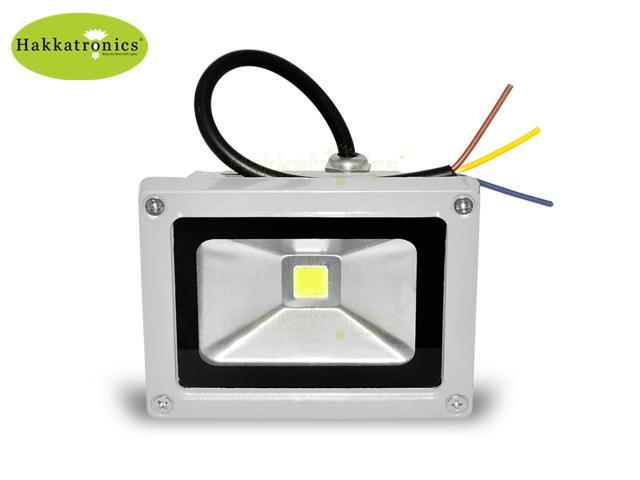 5 Pieces 10W LED Outdoor waterproof Flood Spot light Landscape Lamp projector AC85-265V Cool White 6000K