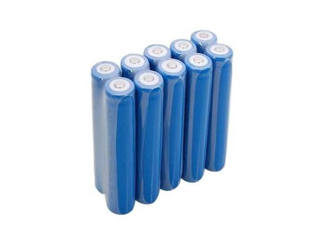 NEW 10pcs In Total Neutral 18650 3.7V-4.2V 5000mAh Rechargeable Lithium Battery Blue