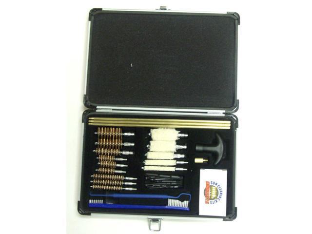 Gunmaster Universal Select 30 Piece Gun Cleaning Kit in Aluminum Case