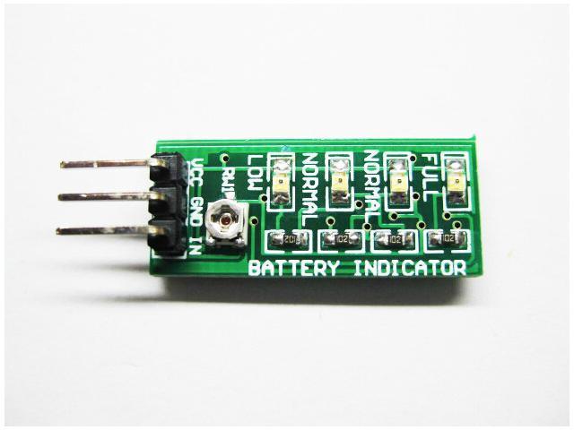 WWH-Battery level indicator Power indicator module range 4V-20V