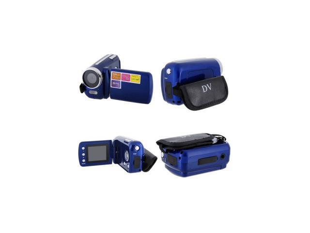 M1V Mini 12MP 720P 4x Zoom Digital Camcorder D Video Recorder Web Camera DV New-Blue