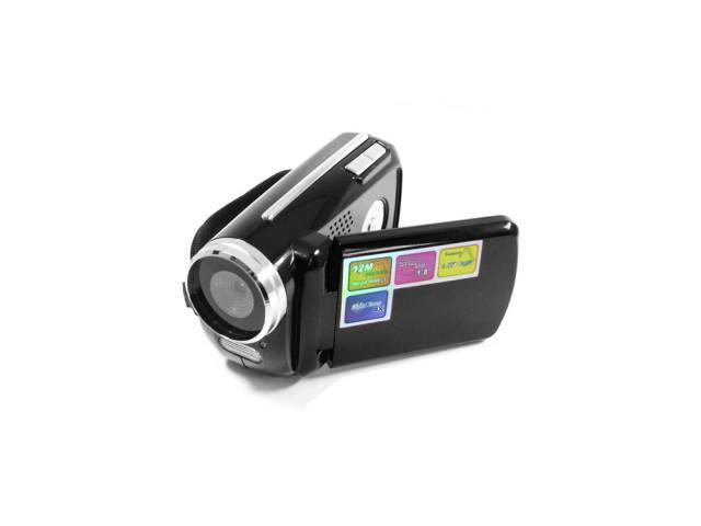 M2W Mini 12MP 720P 4x Zoom Digital Camcorder D Video Recorder Web Camera DV New-Black