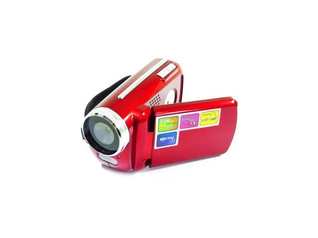 M0U Mini 12MP 720P 4x Zoom Digital Camcorder D Video Recorder Web Camera DV New-Red