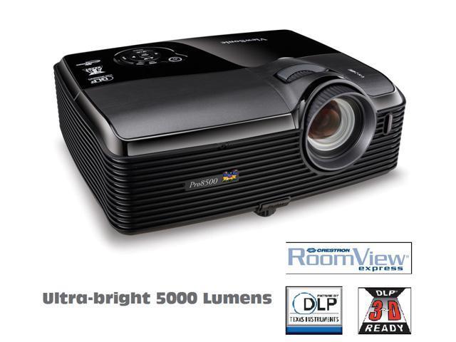 ViewSonic PRO8500 XGA,HDMI,3D,5000 Lumen,Networkable RJ45,USB,DLP Projector
