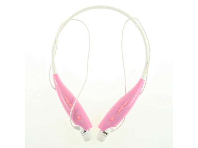 Pink HBS-730 Wireless Bluetooth Universal Stereo headset for LG iPhone Samsung