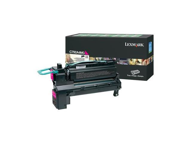 Lexmark C792A4MG Toner Cartridge - Magenta
