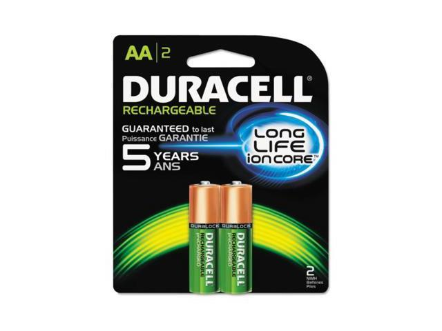 Duracell Rechargeable NiMH Batteries with Duralock Power Preserve Technology ...