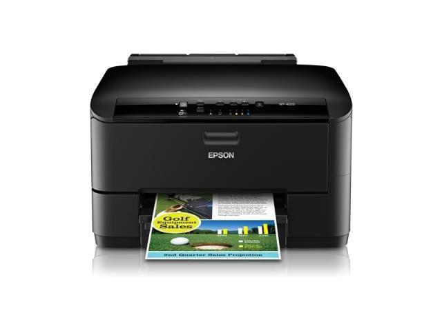 Epson WorkForce Pro WP-4020 Inkjet Printer - Color - 4800 x 1200 dpi Print - ...