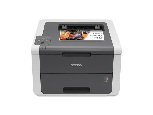 Brother HL-3140CW LED Printer - Color - 2400 x 600 dpi Print - Plain Paper Pr...