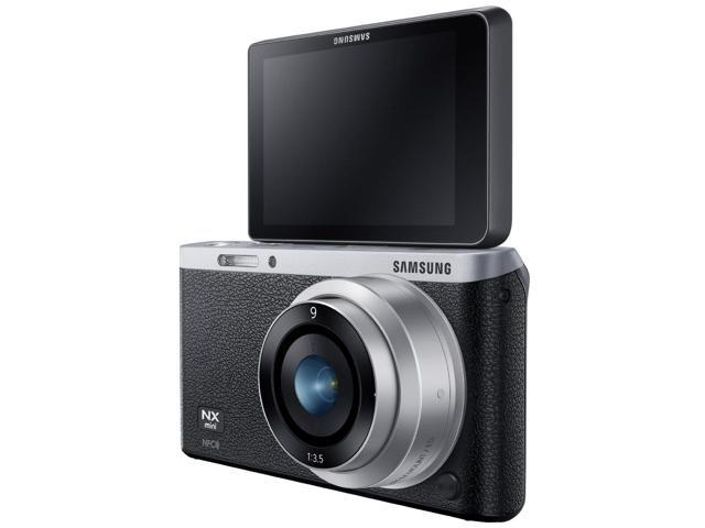 Samsung NX Mini Smart Camera with 9mm Lens (Black)