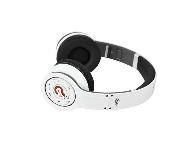 Wireless Bluetooth Syllable G08 Noise Reduction Cancellation Headphones white