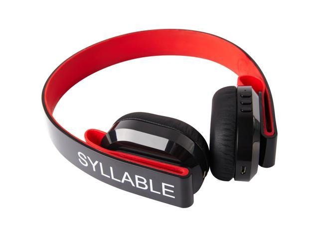 New arrival Syllable G600 Wireless Bluetooth Headphone Earphone headset Deep Bass Built-in Mic / 40mm Speaker double model