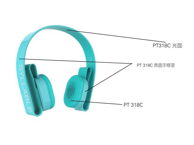Syllable G600 Wireless Bluetooth 4.0 Headphone Earphone Deep Bass Built-in Mic / 40mm Speaker