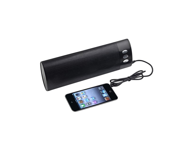 SK-258B Black Stereo Bluetooth Speaker Portable Mini Speaker for Mobile Cell Phone with rechargarable battery