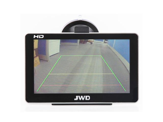 Waterproof 2.4G Wireless IR Car Vehicle RearView Monitors camera with GPS connection,