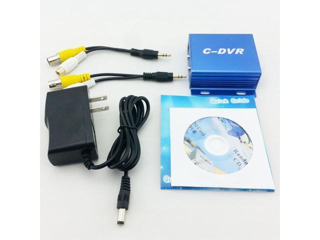 New Mini C-DVR Video/Audio Recorder Monitor Detection For CCTV Camera
