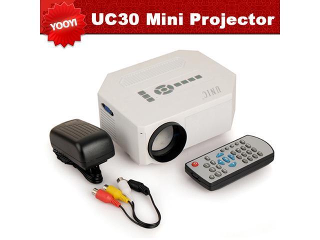 2014NEW Arrival!UC30 HD Home Projector Mini portable Projector1080P Projector Support HDMI VGA AV Digital projector