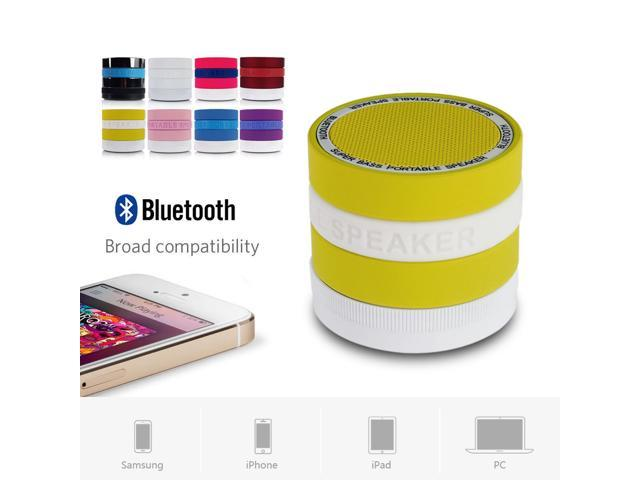 Mini Portable Super Bass Bluetooth Wireless Speaker For iPhone Samsung Tablet PC