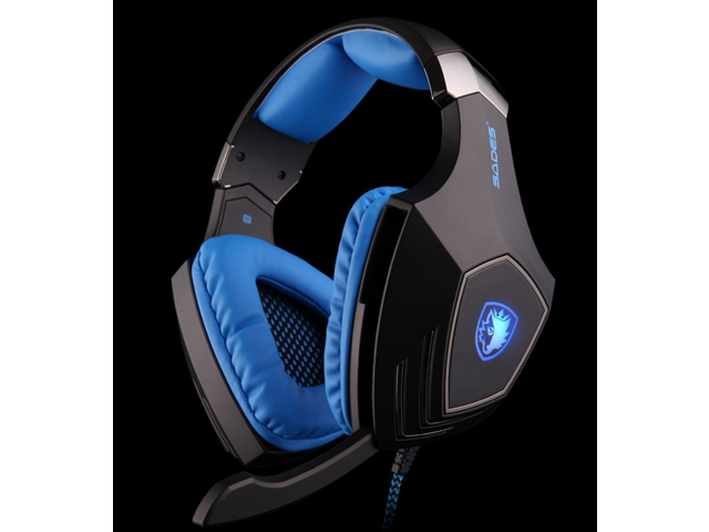 NEW High Quality SADES A60 Vibration Function and 7.1 Surround Sound Professional Gaming Headphones Games Headset