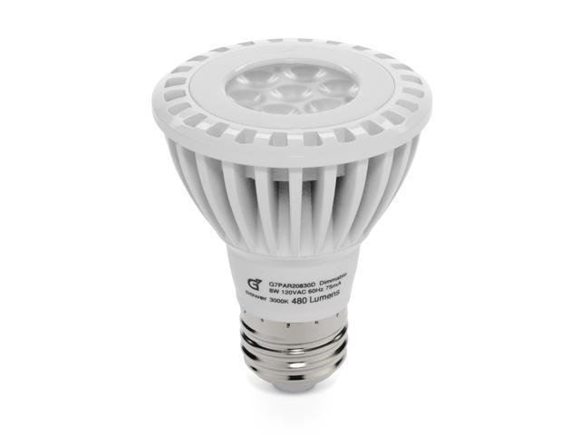 G7 Power Mesquite PAR20 LED Spot Light Bulb 480 Lumen Bright White Light 3000K 8-Watt, 40-Watt Replacement