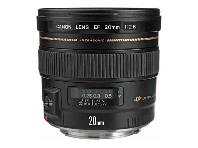 Canon EF 20mm f/2.8 USM AutoFocus Ultra Wide Angle Lens - Grey Market #2509A003G