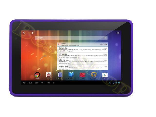 Ematic EGS004-PR 7.0-Inch 4GB Genesis Prime MultiTouch Tablet (Purple)