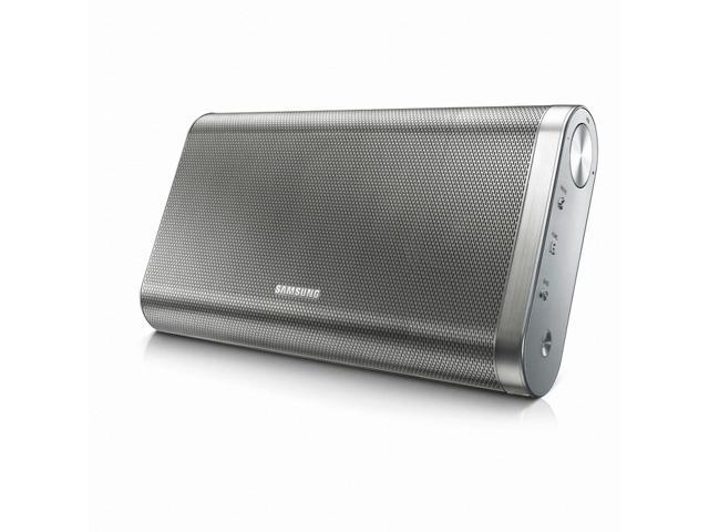 Samsung DA-FM61C Portable Bluetooth Speaker - Up to 12 Hours Playback, 2-Channel 20-Watt, NFC Pairing and TV SoundShare - Silver