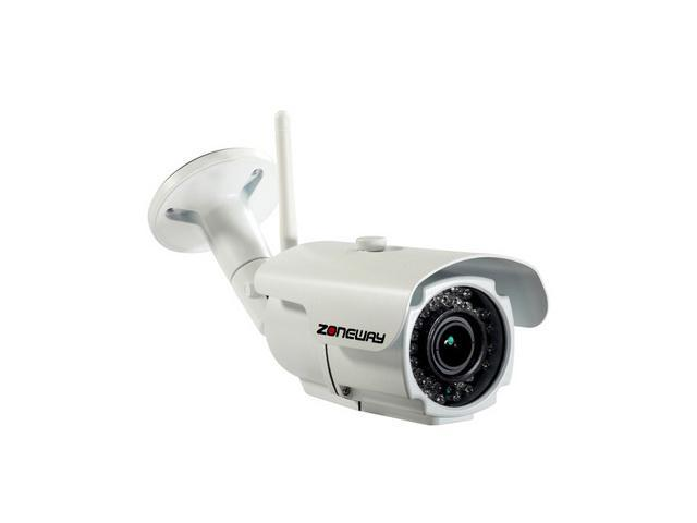 ZONEWAY NC856MW-P 1920 x 1080 Max Resolution 2.8~12mm Vari-focal Lens Day & Night IP67 WIFI ONVIF IP Camera