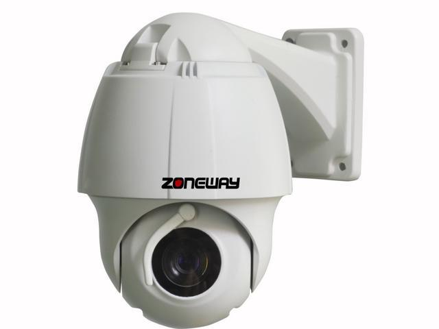 ZONEWAY NC750M-P Outdoor Mini 1.3MP 960P IP High Speed Dome Camera with Wiper, 10X Optical Zoom, Onvif, P2P