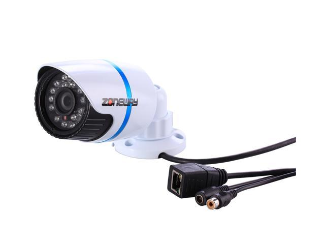 ZONEWAY NC848M-P Outdoor Mini 1080P HD Wired Network IP Surveillance Security Camera Support ONVIF, P2P
