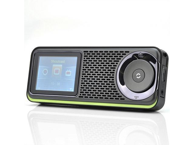 WiFi Wireless Portable internet TV + internet Radio with MP4 Video + MP3 Music Media Player and 2.4