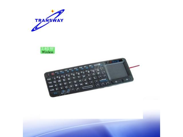 TeKit 2.4GHz wireless K106RF keyboard mouse with touch pad for pc, laptop and other electronics