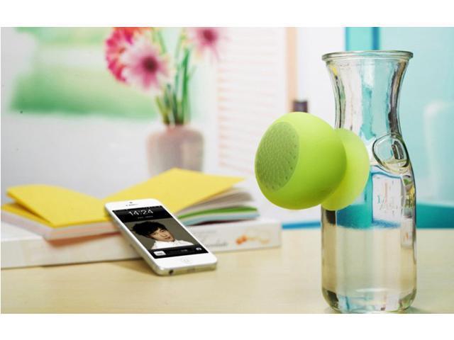 TeKit Bluetooth speaker, Transway Bluetooth 2.0 Mushroom mini portable speaker