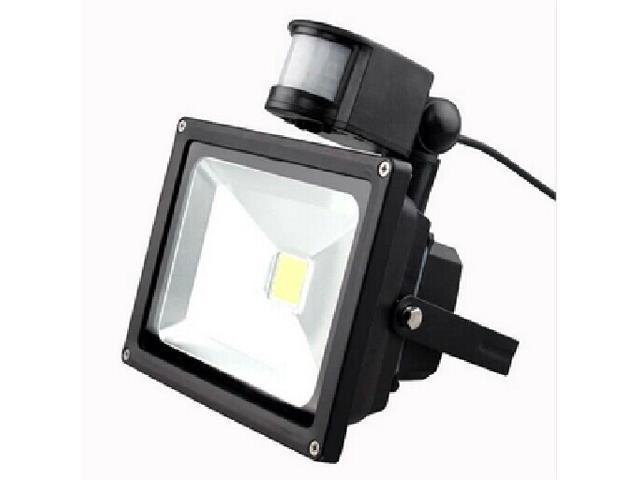 TeKit DC12V 10W PIR LED Flood light White Warm Floodlight Motion Sensor DC12V,PIR Smart DC12V 10W LED far infrared body sensors Spotlights ...