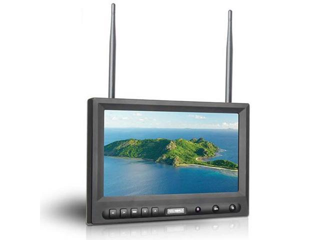 TeKit Wireless 5.8G FPV 8 inch HD 800*480 Monitor with Dual 32CH Receiver,8