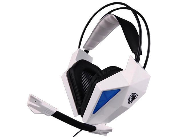 Sades SA-709 7.1 Sound Surround PC Gaming Deep Bass Headset Headphone Earphone with Mic