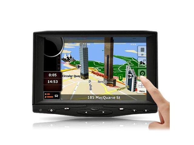 Tekit 619AHT 7 inch HD Touchscreen Car LCD Monitor with HDMI AV VGA input + remote control for rearview camera