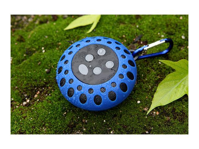 Glovion Portable Waterproof Mini Bluetooth Shower Speaker wireless outdoor sports Bluetooth Speaker Play Wireless Music with Crisp Audio & Deep ...
