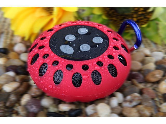 Glovion Portable Waterproof Mini Bluetooth Shower Speaker wireless outdoor sports Bluetooth Speaker Play Wireless Music with Crisp Audio & Deep ...