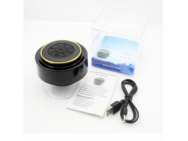 Glovion Portable Ip67 Waterproof Mini Bluetooth Shower Speaker Wireless Outdoor Sports Bluetooth Speaker Play Wireless Music with Crisp Audio & ...