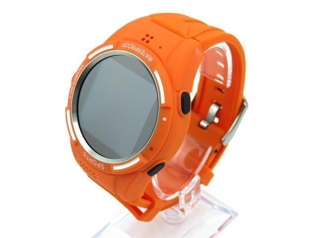 HAMSWAN 3G Waterproof Bluetooth Sports Watch Phone Built in 2.0MP Camera--the Perfect Companion for Smart Phone