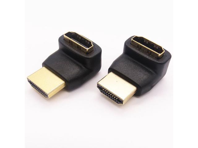 LinkS 270 Degree HDMI Male to Female Adapter(2-Pack)—Ship From US