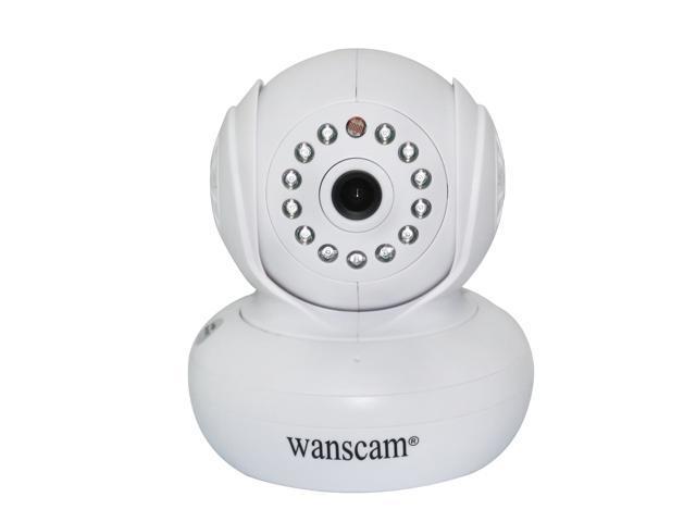 Wanscam JW0005 Indoor Outdoor PNP Wifi IP CCTV Camera Pan/Tilt P2P 3.6mm lens Support 32G TF Card 13 pcs led 10 metre Night Vision Home ...