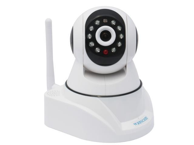 Wanscam HW0030-I Wireless/Wifi/Wired TF Card Slot PNP Dual Audio Pan/Tilt Infrared CCTV Security Internet Network IP Camera Motion Detection ...